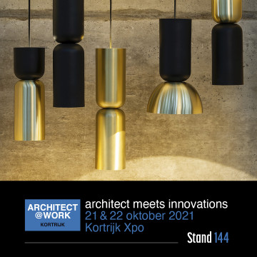 Visit us at Architect@Work Kortrijk