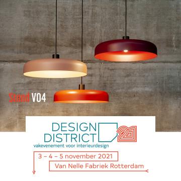 Visit us at Design District Rotterdam