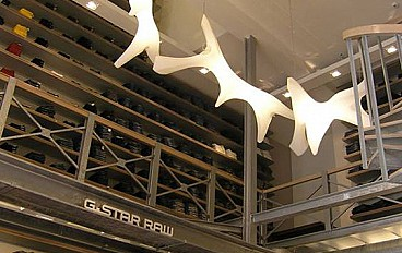 Project g-star fashion store amsterdam