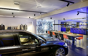 Project bmw brandstore brussels